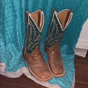 Justin boots bent rail collection
